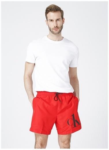 Calvin Klein Calvin Klein Şort Mayo Kırmızı